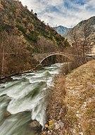 Puente de la Margineda, Santa Coloma, Andorra, 2013-12-30, DD 08-10 HDR Edit.JPG