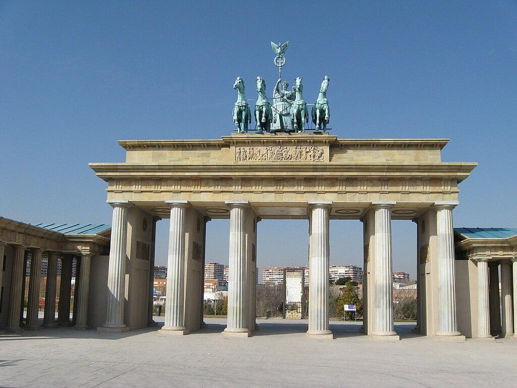 Archivo Puerta De Brandenburgo Parque De Europa Torrej N