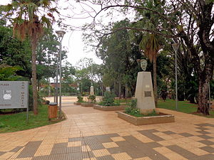Puerto Iguazú - San Martín Square