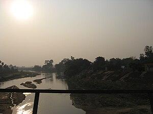 Punpun River - Punpun at Obra
