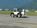 Pushback Tractor Moving at Hualien Air Force Base Runway 20170923.jpg