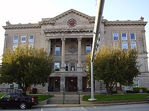 Putnam County, Indiana - Image: Putnam County Courthouse Indiana