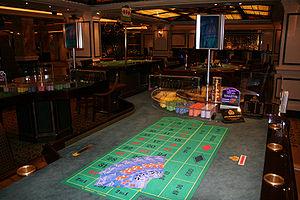 Gambling ship - An empty gambling ship