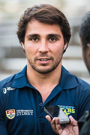 Nick Phipps (rugby union) - Image: Qantas Wallabies Player Nick Phipps