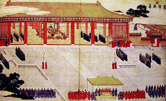 Empress Xiaoshengxian - Image: Qianlong Palast