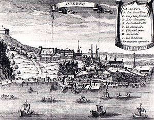 History of Quebec City - Quebec City in 1700