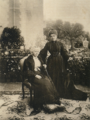 Queen Margherita of Italy with her mother the Duchess of Genoa.png
