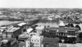 Queensland State Archives 166 Brisbane looking south from the Brisbane City Hall clock tower towards Victoria Bridge and South Brisbane c 1932.png