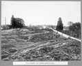 Queensland State Archives 3680 South approach fill between retaining walls Brisbane 1 July 1936.png