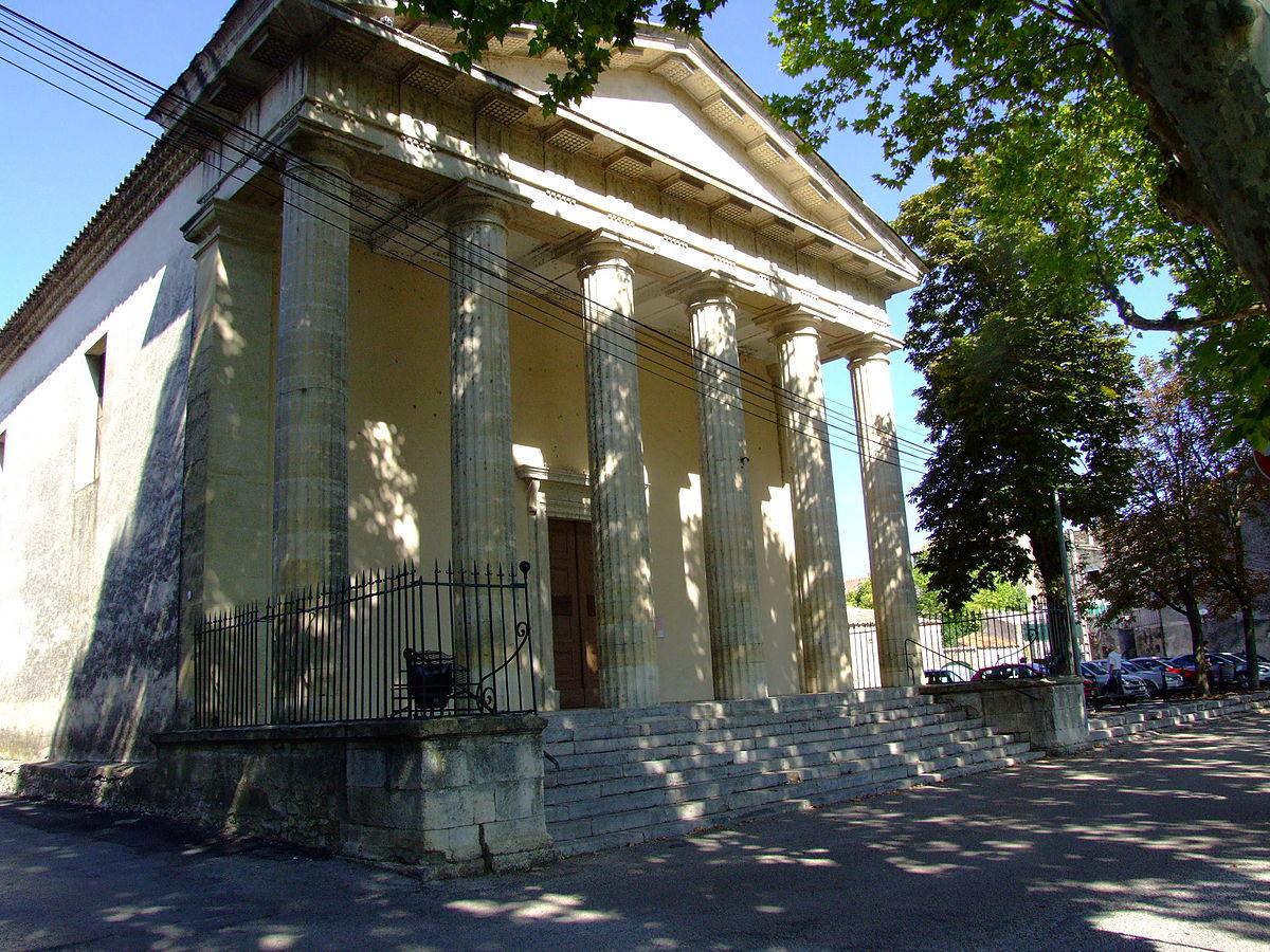 Temple Protestant De Quissac Wikip 233 Dia