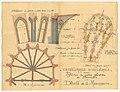 Réfection des voûtes effondrées de la cathédrale d'Orléans 1904 - Archives nationales.jpg