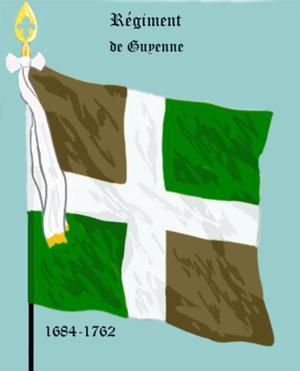 Régiment de Guyenne - Régiment de Guyenne (1684-1762)