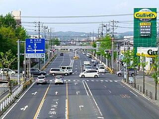 Ube, Yamaguchi City in Chūgoku, Japan