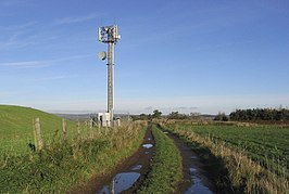 Radio Mast at Shoreswood Ewe Hill - geograph.org.uk - 282239.jpg