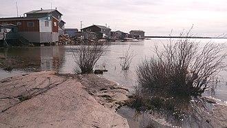 North Slave Region - Behchoko on Great Slave Lake