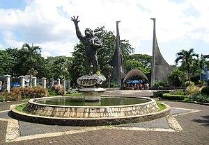 Ragunan Zoo - Front gate of the Ragunan Zoo