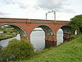 Railway Across Waulkmill Glen Reservoir - geograph.org.uk - 245390.jpg
