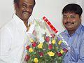 Rajinikanth with suresh parthasarathy.jpg
