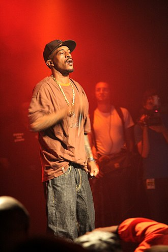 Rakim - Rakim at the Paid Dues hip hop festival in New York, June 4, 2008