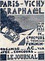 Rallye féminin Paris-Vichy-St Raphael de 1932.jpg