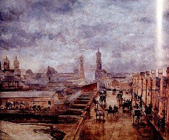 Ramón Subercaseaux Vicuña - An Old Masonry Bridge (1875)