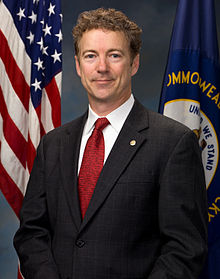 Portrait officiel de Rand Paul (2011).