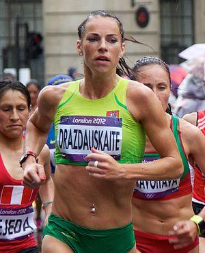 Lithuania at the 2012 Summer Olympics - Rasa Drazdauskaitė in women's marathon