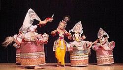 Rasa Lila in Manipuri dance style.jpg