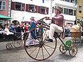 Ravensburg Rutenfest 2005 Festzug Hochrad.jpg