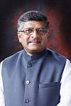 Ravi Shankar Prasad At Office.jpg