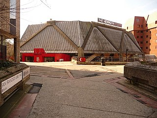 The Hexagon theatre and arts centre in Reading, Berkshire, England