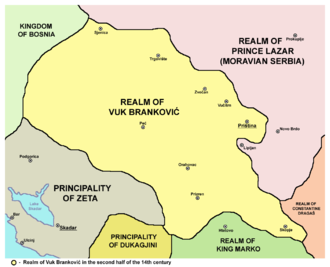 District of Branković - Realm of Brankovic