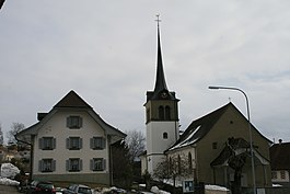 The Roman Catholic church in Rechthalten