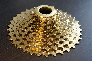 Cogset - 10-speed bicycle cassette