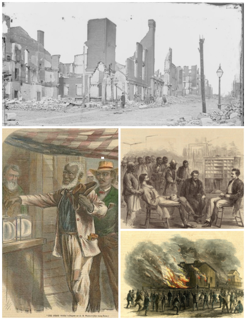 Reconstruction era Era of military occupation in the Southern United States after the American Civil War (1865–1877)