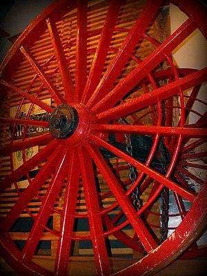 Michigan logging wheels - Single logging wheel