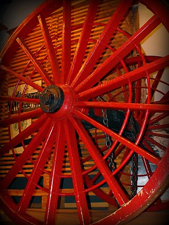 Michigan logging wheels - Single logging wheel
