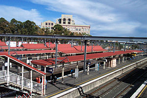 Redfern, New South Wales - Redfern railway station