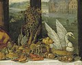 Redressed birds - Jan Brueghel I & Peter Paul Rubens - Taste (Museo del Prado) (cropped).jpg