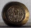 Regno longobardo, emissione aurea di ratchis, zecca di pavia, 744-749.JPG