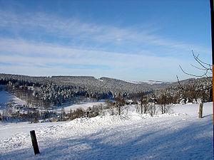 Rehefeld (Sachsen, Erzgebirge)im Winter