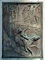 Relief Curtis, Hermann Franz Müller monument, Vienna.jpg