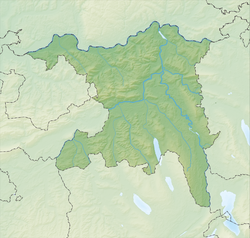 Oberflachs is located in Canton of Aargau