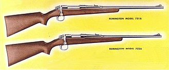 Remington Model 721 - Remington Model 721A and 722A as shown in 1948