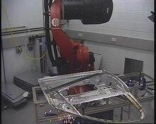 Datei:Remote Fibre Laser Welding WMG Warwick.ogv