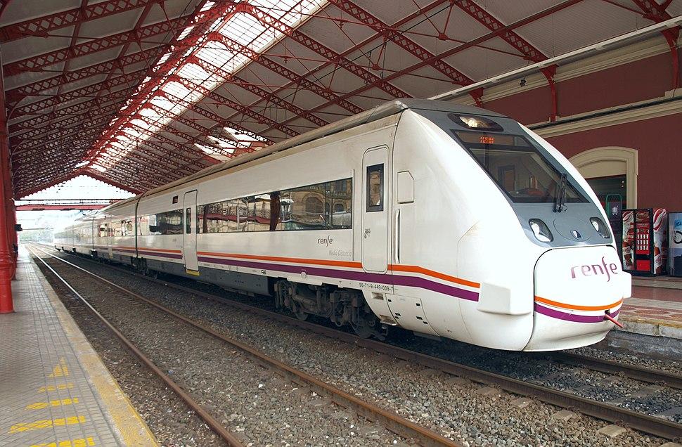 Renfe MD 449-059 en San Sebastián