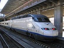 西班牙高速铁路