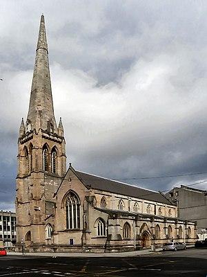 John Thomas Emmett - St Stephen's Church, Renfield, Glasgow 1849-1852