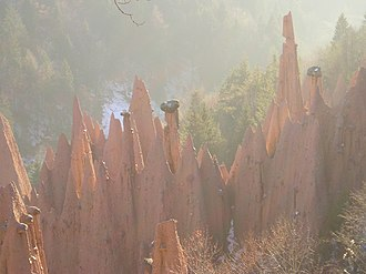 Ritten - Earth pyramids in Ritten