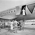 Repatriëring van Nederlandse vrouwen per vliegtuig, Bestanddeelnr 255-6779.jpg